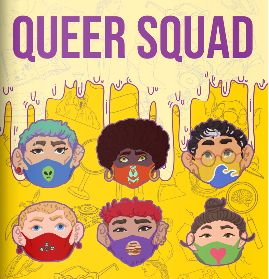 Queer Squad: Tunisian comic embraces LGBTQ life in quarantine