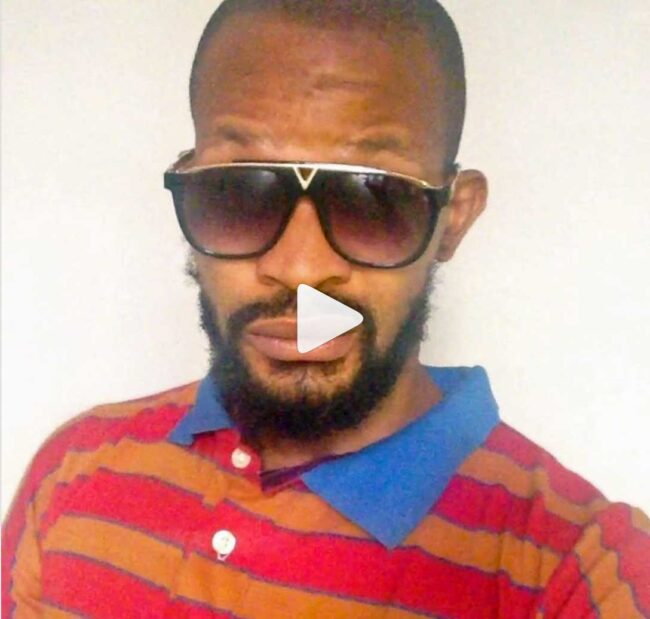 Click the image to see Uche Maduagwu's Instagram video.
