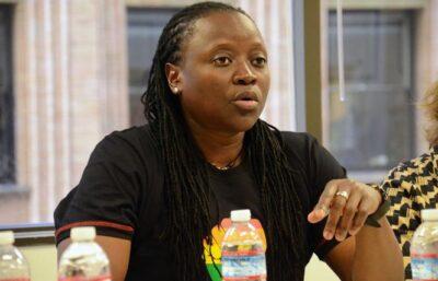 "Ssenfuka ""Biggie"" Joanita Warry, executive director of Freedom and Roam Uganda. (Photo courtesy of Bay Area Reporter)"
